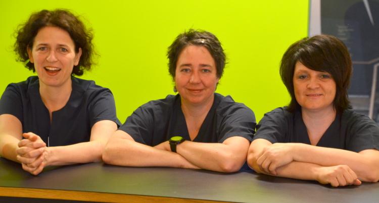 Team der Hausarztpraxis Almut von Poblozki