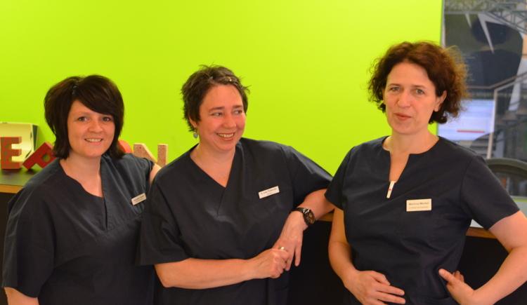 Team der Hausarztpraxis von Poblozki